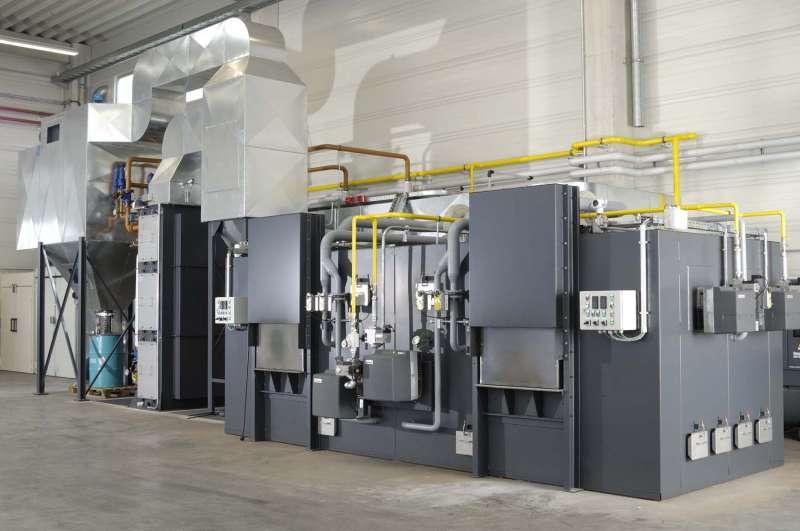 Standard Ofenanlage für Edelmetall-Refining