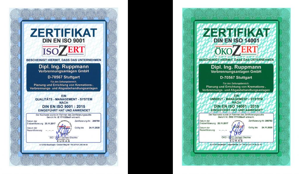 Ruppmann Zertifikate